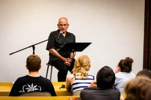 Stanley Lombardo will be coming to Vassar to combine lecture with dramatic readings of Homer and other poets. He will also bring in the subjects of Zen texts and Asian philosophy for a night of variety in art and academia. Photo By: Peter Bailley via Knox College
