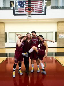 The women's basketball seniors have all boasted illustrious careers. All hold personal records and accomplishments. Despite an underwhelming season, they can all hold their heads high. Photo courtesy of Vassar Athletics