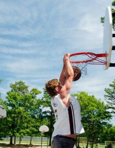 On April 13 the faculty battled the students on the basketball court as part of a fundraiser for Student Gift, scholarships and financial aid. The faculty returns after two consecutive losses. Photo courtesy of Vassar Athletics
