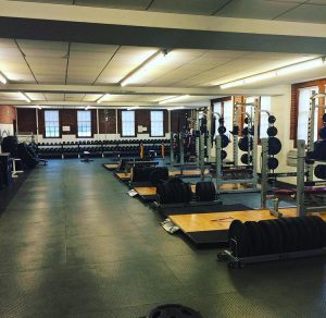 The Vassar varsity weight room is run by Coach Cameron Williams. In his three-year tenure, Williams has already significantly improved athletes' strength and conditioning capabilities. Photo courtesy of Cameron Williams