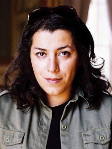 Satrapi dedicated the focus of her lecture to many wide-ranging topics, including the Iranian Revolution, comic books, French culture, coming of age, cultural identity and humor. Courtesy of Maria Ortis/ Penguin Random House