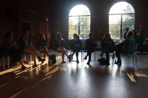 Students and faculty gathered in the Aula last Thursday to engage in a forum about racial and social issues, which was hosted by the Office of Campus Life and Diversity. Photo courtesy of Meg Howell