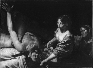 """Pictured above is Valentin de Boulogne's 1627-29 """"Judith and Holofernes,"""" now on view in an exhibit of the French painter's work at the Met 5th Avenue which showcases his artistic bravado. Courtesy of Web Gallery of Art"""