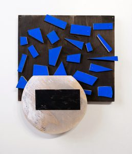 """Christina Tenaglia '97 (work pictured) is one of three Marist art professors —and a Vassar alumna—featured in the new Palmer Gallery show """"Over, Under After Over,"""" which showcases sculpture and 2D paper pieces. Courtesy of Christina Tenaglia"""