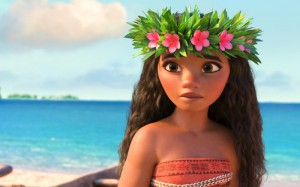 """Disney's new film """"Moana""""—a beautiful exploration of the Polynesian culture—is a refreshingly yet unfortunately unique film in its depicted hero, an independent woman of color. Courtesy of Disney via The Daily Beast"""